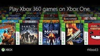 jouer au jeux xbox 360 sur xbox one la retrocompatibilité plus le preview 2015