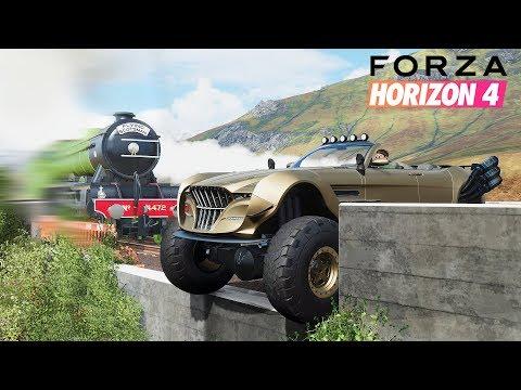 FORZA HORIZON 4 STUNTS, FAILS & FUNNY MOMENTS #2