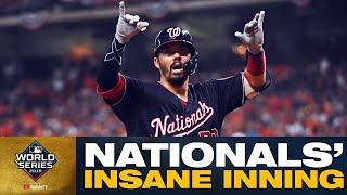 Nationals UNLEASH 6-run 7th inning to give themselves huge lead vs Astros in World Series Game 2