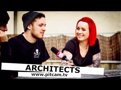 ARCHITECTS - Tom Searle & Dan Searle on the new album and homicidal taxi drivers   www.pitcam.tv