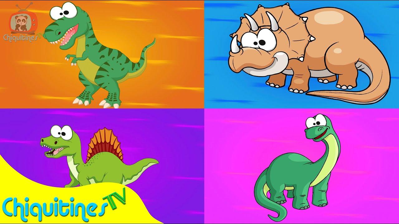 Veo veo dinosaurios canci n infantil youtube - Perchas infantiles de pared ...