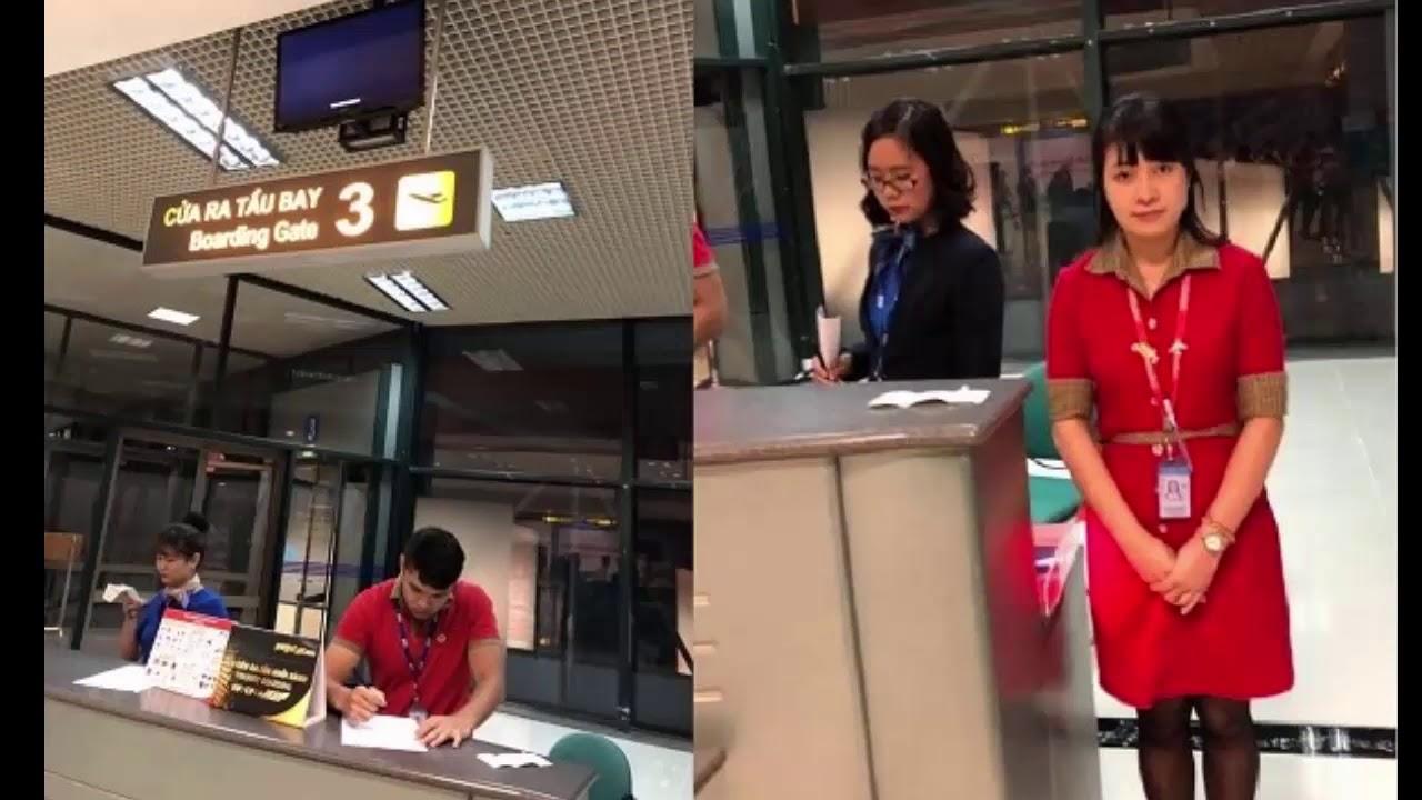 Nhân vietjet xé vé của khách hàng sẽ bị k.ỹ l.u.ật #tinhottrongngay