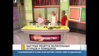 Быстрые рецепты малосольных огурцов и помидоров