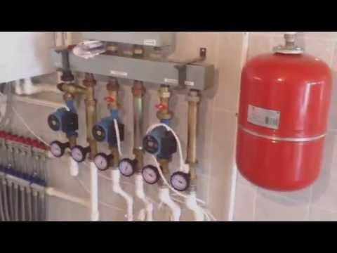 Монтаж отопления| Дом из бруса