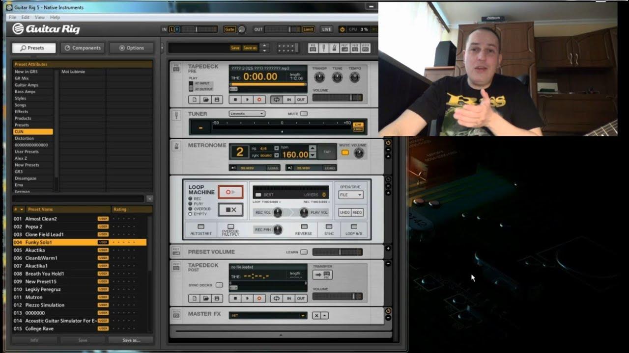 Программа для настройки гитары через микрофон tuneit130.