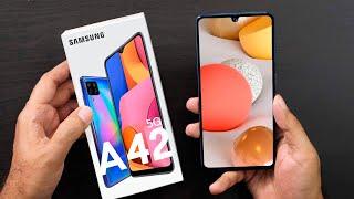 Samsung Galaxy A42 - ОФИЦИАЛЬНО САМЫЙ ДЕШЁВЫЙ 5G СМАРТФОН!