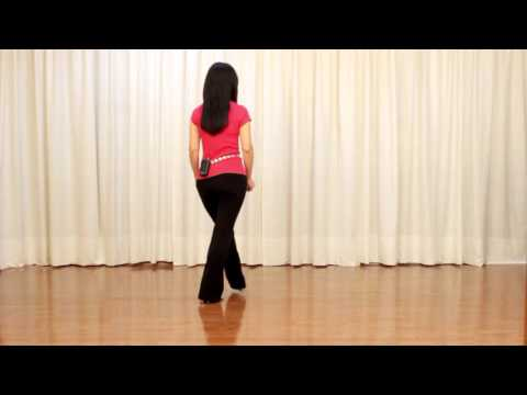 Jamaica Farewell - Line Dance (Dance & Teach in English & 中文)
