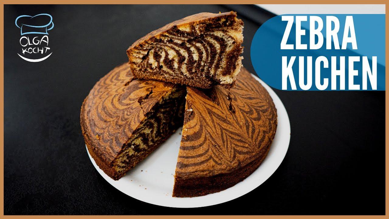Zebra / Marmor Kuchen einfach selbstgemacht | Saftig und Lecker