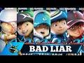 BAD LIAR (COVER PARODY) - VERSI BOBOIBOY THE MOVIE 2, ETC || BOBOIBOY: SUPRA, GLACIER, FROSTFIRE