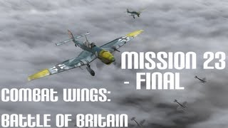 Czech Let's Play - Combat Wings: Battle of Britain [Final Mission 23]