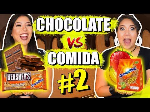 CHOCOLATE VS COMIDA #2 | Blog das irmãs