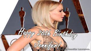 HAPPY 26th BIRTHDAY JENNIFER LAWRENCE!