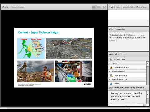 Preparing Water Services for Climate Risks: Experience from the Philippines