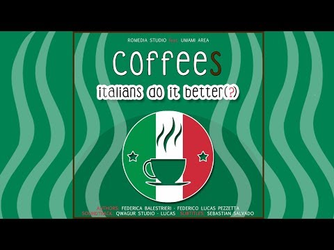 Coffees - Italians do it better(?) [ENG SUB]