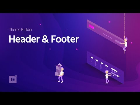 wordpress header footer builder