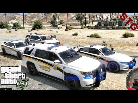 GTA 5 MODS - LET'S BE COPS - TAHOE PATROL!!! (GTA 5 REAL LIFE PC MOD)