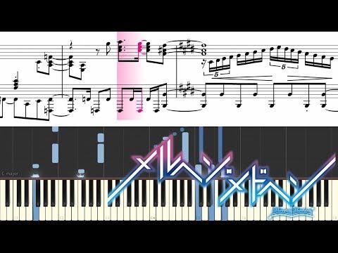 【ピアノソロ楽譜】メルヘン・メドヘン OP「わたしのための物語 〜My Uncompleted Story〜」(fhána)【Piano Solo Score】Märchen Mädchen