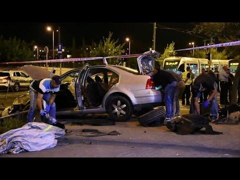 Palestinian rams car into Jerusalem crowd, killing baby