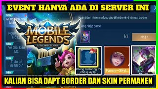 EVENT TERBARU MOBILE LEGENDS EVENT MOBILE LEGENDS