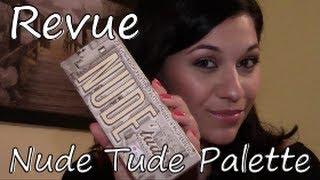 Nude Tude palette, The Balm - Revue Thumbnail