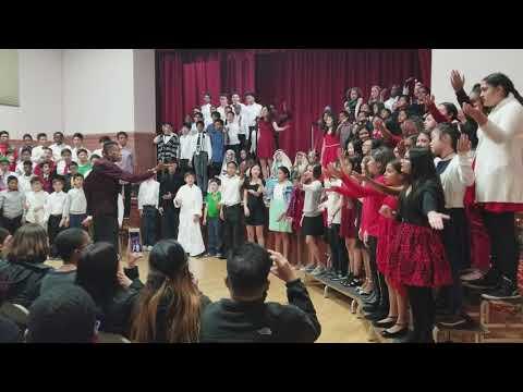 CCS Grades 7-8 Christmas program Rendition of Gloria