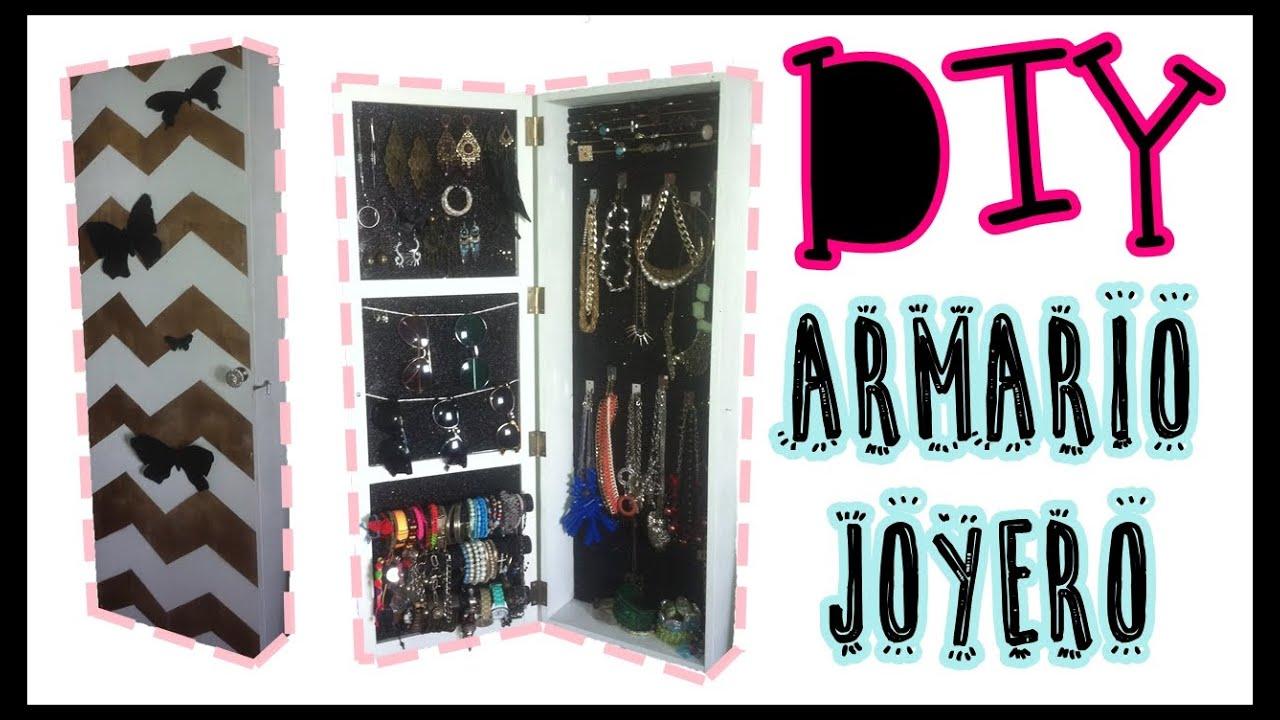 Aparadores Olaio ~ DIY armario joyero 2 u00ba PARTE MatyLLerena u2665MissMDeliiciious u2665 YouTube
