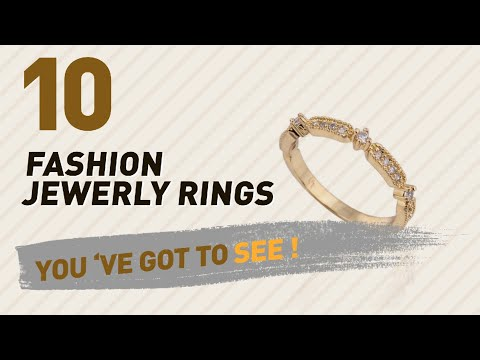 Fashion Jewerly Rings Top 10 Collection // UK New & Popular 2017