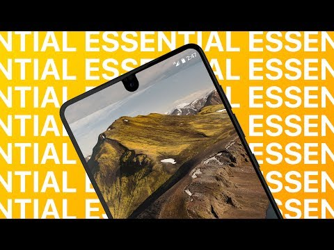 Essential Phone By Andy Rubin - ULTIMATE New Android Phone?