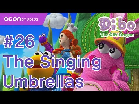 [Dibo the gift dragon] #26 The Singing Umbrellas(ENG DUB)ㅣOCON