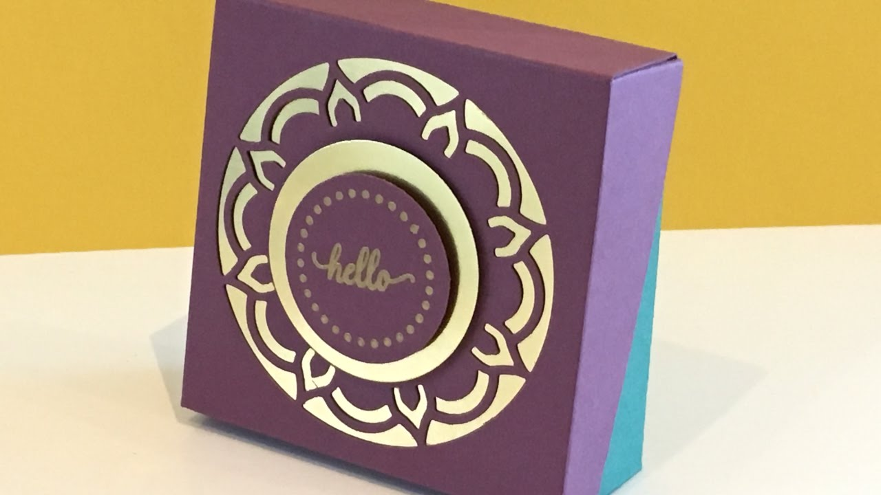 b6f443363 Sloping Flip Lid Box Video Tutorial - Eastern Palace Week - new from Stampin   Up