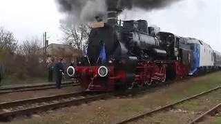Steamtrain (s) in the EASTERN EUROPE. Spectaculaire smoke and steam chasing.
