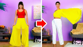 36 Amazing OUTFITS With Your Old Clothes  5-Minute Clothes Transformation Ideas!