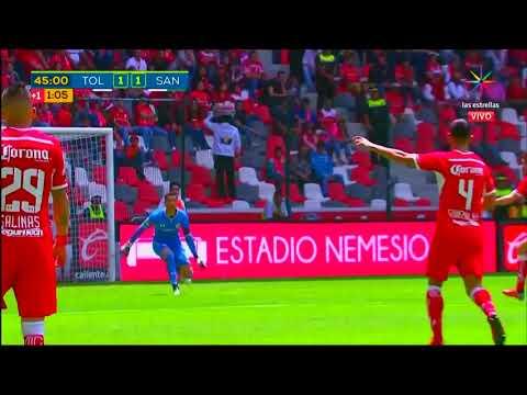 Resumen Toluca Vs Santos J8 Apertura 2018