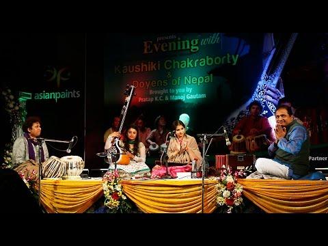 Kaushiki Chakrabarti Live Concert in Nepal ( Classical Music ) genre)