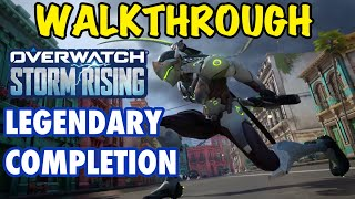 Overwatch Storm Rising Legendary Story (Hurricane) Walkthrough