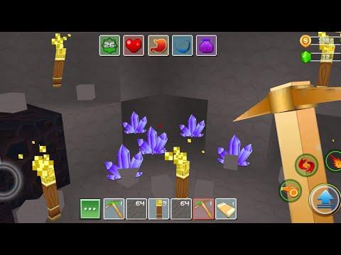 Exploration Lite Craft Android Gameplay #70 | Find Amethyst Gemstone