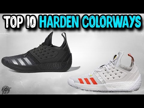 Top 10 Adidas Harden Vol 2 Colorways!