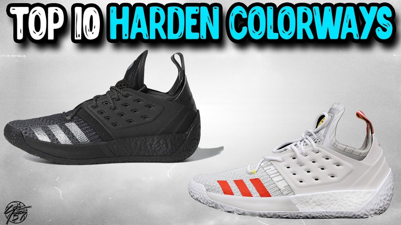 b3f6a4df425 Top 10 Adidas Harden Vol 2 Colorways! - YouTube
