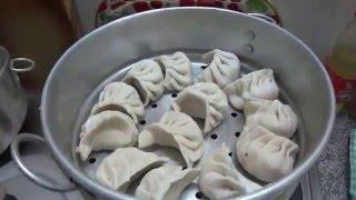 IHL356. Готовим момо. Как я училась делать момо в тибетском кафе. Почему с меня не взяли денег.