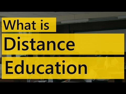 what is distance education | Types of Distance learning | Education Terminology || SimplyInfo.net