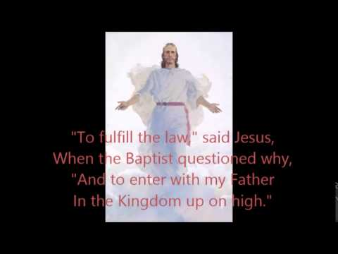 Baptism-LDS primary song