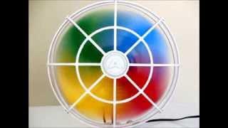 Old Store Antiguidades   Ventilador Arno Mini Rainbow 80`s