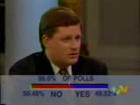 Stephen Harper speaks about 1995 referendum Quebec