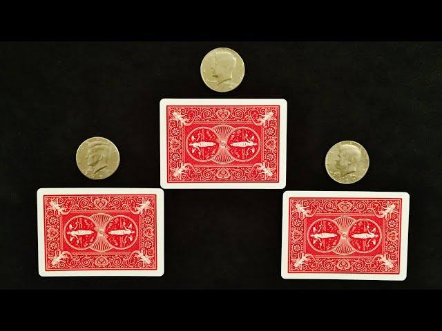 MATRIX TUTORIAL revealed exposed coin magic trick by Dai Hard