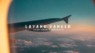 Gambar cover Nufi Wardhana - Layang Kangen (Lyrics)🇮🇩Versi Bahasa Indonesia