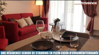 La Minute Immo : une résidence senior de standing en plein cœur du quartier Euroméditerranée