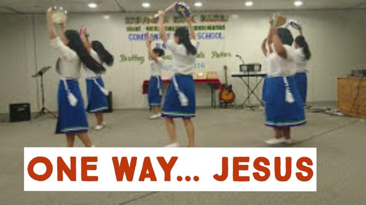 4d09657e8c3e ONE WAY (JESUS) Tambourine Dance - YouTube