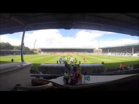 Pre Match v Bradford City: View from the press box
