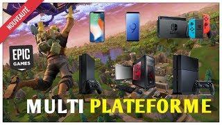 COMMENT JOUER A FORTNITE AVEC LES JOUEURS SWITCH, PS4, XBOX ET PC