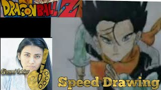 ANDROID 17 DRAGON BALL Z SPEED DRAWING